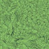 Conception sans couture de filigrane de mehndi de hina paisley Images stock