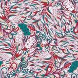 Conception sans couture de filigrane de mehndi Paisley, s'enroulant Photo libre de droits