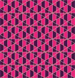 Conception sans couture de modèle de grille géométrique photographie stock libre de droits