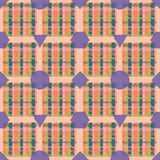 Conception sans couture de plaid Photo libre de droits