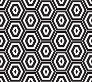Conception sans couture de polygone Photos stock