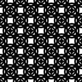 Conception sans couture noire et blanche de modèle de vecteur Photo libre de droits