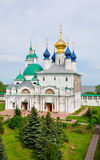 Conception of St. Anne`s Cathedral and Church of the Savior Yako Royalty Free Stock Image
