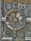 Conception sur le vieux pilier de fort Photographie stock