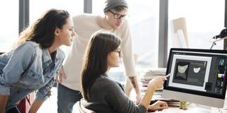Conception Team Meeting Discussion Working Concept photos libres de droits