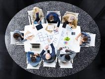 Conception Team Planning pour un nouveau projet photo libre de droits
