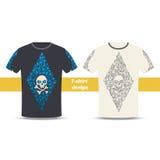 Conception une de T-shirt Photos libres de droits