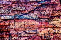 Conception unique de modèle abstrait coloré image stock