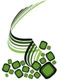 Conception verte Image libre de droits