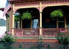 Conception victorienne de porche de style Image stock