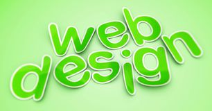 Conception web Image stock