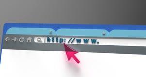 Conception web Photo libre de droits