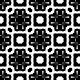 Conceptions blanches noires de répétition de vecteur photos stock