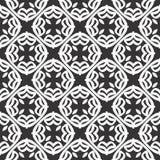 Conceptions blanches noires de répétition de vecteur Photo stock