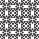 Conceptions blanches noires de répétition de vecteur Photos libres de droits