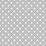 Conceptions blanches noires de répétition de vecteur Photographie stock libre de droits