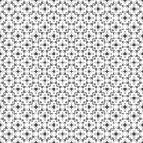 Conceptions blanches noires de répétition de vecteur Images stock