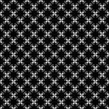 Conceptions blanches noires de répétition de vecteur Images libres de droits