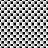 Conceptions blanches noires de répétition de vecteur Photo libre de droits