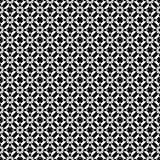 Conceptions blanches noires de répétition de vecteur Image libre de droits