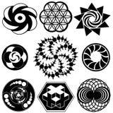 Conceptions de cercle de culture illustration de vecteur