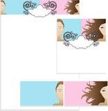 Conceptions de descripteur Illustration Stock
