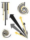 Conceptions de flèche illustration de vecteur