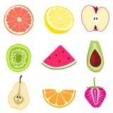 Conceptions de fruit Photographie stock libre de droits