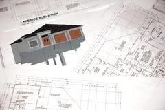 Conceptions de maison images libres de droits