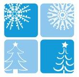 Conceptions de Noël illustration stock