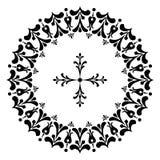 Conceptions rondes avec une croix Photographie stock