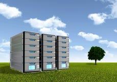Concepto 01 del servidor stock de ilustración