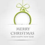 Concepto 2 de la Navidad Imágenes de archivo libres de regalías