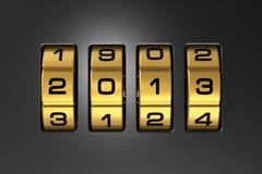 Concepto 2013 del Año Nuevo Imagenes de archivo