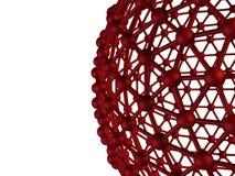 Concepto abstracto de la comunicación de la esfera Foto de archivo