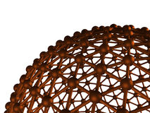 Concepto abstracto de la comunicación de la esfera Fotos de archivo