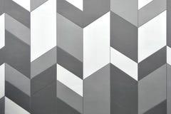 Concepto abstracto del fondo, cierre encima del modelo gris moderno, papel pintado con el diseño para decorativo del edificio Foto de archivo