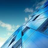 Concepto abstracto del rascacielos stock de ilustración