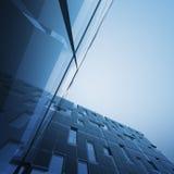 Concepto abstracto del rascacielos Imágenes de archivo libres de regalías