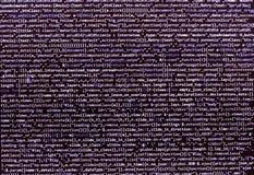 Concepto abstracto programado del algoritmo del flujo de trabajo foto de archivo