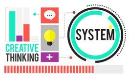 Concepto accesible mecánico de la cooperación del motor del sistema libre illustration