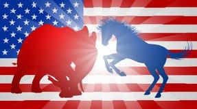 Concepto americano de la elección Foto de archivo