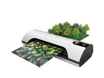 Concepto amplio de alta resolución moderno de la impresión del formato el real para foto de archivo libre de regalías