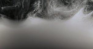 Concepto Art White Paint In Water como humo en a cámara lenta imagen de archivo libre de regalías