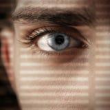 Concepto atento de la mirada Imagen de archivo libre de regalías
