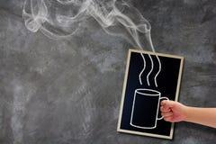 Concepto caliente del café Imágenes de archivo libres de regalías