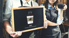 Concepto caliente del calor de la mañana de la taza de café Fotografía de archivo libre de regalías