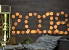 Concepto cambiante de la decoración del Año Nuevo Foto de archivo