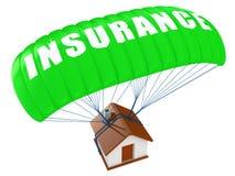 Concepto casero del seguro Fotografía de archivo