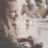 Concepto casual de la salud de la aptitud de la vida del ocio de la acción activa Foto de archivo